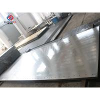 China Thermic Oil Heated Hot Press Plates / Stainless Steel Heat Press Machine Parts wholesale