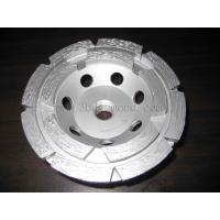 China Hot sales different sizes double row segment cup grinding wheels wholesale