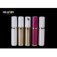 China Plating PP Cosmetic Empty Rollerball Bottles , BPA Free Small Roller Ball Bottles wholesale