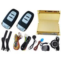 Car Ignition Start Button Car Alarm Security System , RFID Emergency Unlock Feature Manufactures