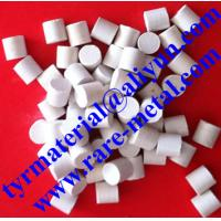 China Hafnium oxide (HfO2) pellets use in evaporation or thin film coating material wholesale