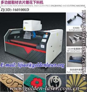 China CNC Laser Engraver Carpet Door Mat wholesale