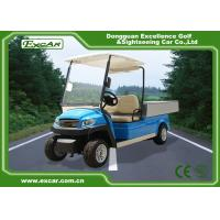 Buy cheap 48V Trojan battery 2 seater electric golf cart 5kw hotel buggy car mini electric truck from wholesalers