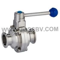 China Sanitary Butterfly Type Ball Valve on sale