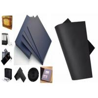 China Durable Black Paperboard For Bag / Photo Frame / Gift Box / Packaging Material wholesale
