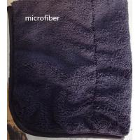 China Microfiber 300gsm 150cm Width Black Durable Piping Good-looking Sports Cleaning Towel wholesale