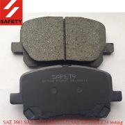 China Disc pads for TOYOTA Matrix TOYOTA Corolla on sale