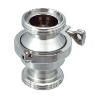 China Sanitary SS316L Threaded Non return Check Valve With Clamp type Connection wholesale