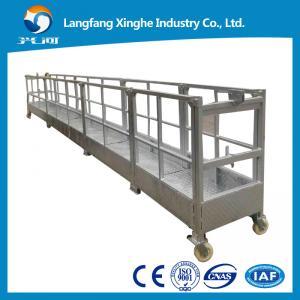 China aerial suspended working platform / electric suspended scaffolding / gondola platform wholesale
