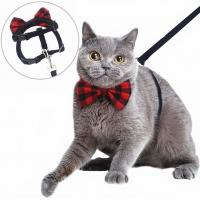 China British Style Nylon Cat Collar With Removable Bowtie wholesale