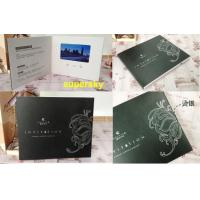 China Digital Lcd Media Video Booklet Lcd Video Greeting Card With Wifi / Touch Screen wholesale