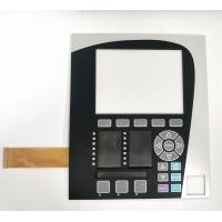 China Pocket design membrane switch with PCB board and FPC cable,Embossed PET membrane switch wholesale