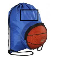 China High Quality Customized Polyester Football Basketball Drawstring Backpack Bag with logo wholesale