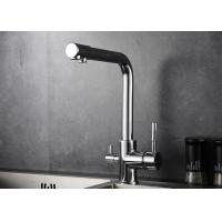 China 3 Way Drinking Water Filter Kitchen Basin Faucet Ceramic Valve Core Material ROVATE wholesale