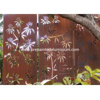 China High Strength Laser Cut Corten Steel For Sculpture Decoration and Curtain Wall wholesale