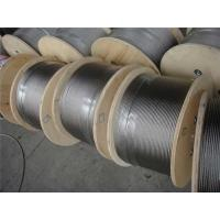 China High Strength galvanized steel wire rope , Triangular Strand Wire Ropes wholesale