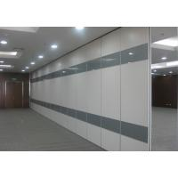 China Acoustic Movable Sliding Folding Partition Walls Fire and Sound Resistant wholesale