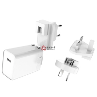 China 20W Universal Interchangeable Plug USB-C Power Adapter 5V 3A 9V 2.22A 12V 1.67A PD Charger For iPhone 12 Pro Mini Max wholesale