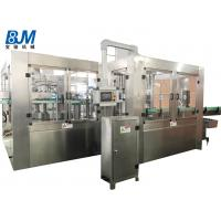 China PET Bottle Soda Filling Machine / Filling And Packing Machine For Carbonated Drink wholesale