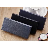 China New Style Custom Paper Gift Box For Lid And Base Covered Paper Watch Box wholesale