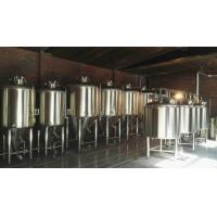 Buy cheap 1000L Large Beer Brewing Equipment , Industrial Stainless Steel Beer Brewing from wholesalers