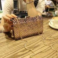 China ladies fancy luxury evening bag top quality girls purse new style evening clutch bag metal purse making suppliers on sale