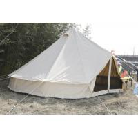 Buy cheap White Canvas Yurt Tent / Cotton Bell Tent For Hiking Equipment from wholesalers