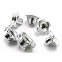 Buy cheap #10-24 4 Pronged Tee Zinc plated Nuts For Wood Parts Stainless Steel Tee Nuts from wholesalers