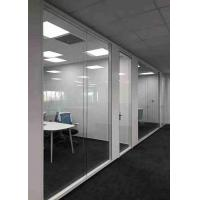 China Concealed Edge Demountable Glass Partitions Easy Operation High Safety wholesale