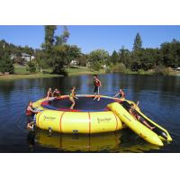 China Rave Bongo Water Trampoline Parks ,  Inflatable Water Games , Water Park Games wholesale