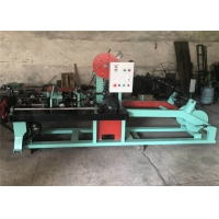 China 3KW Reverse Twist Fully Automatic Barbed Wire Machine wholesale