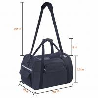 China Medium Airline Dog Carriers Cabin , Airline Compliant Pet Carrier  For Air Travel wholesale