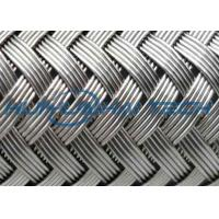China Outside Stainless Steel Braided Sleeving Protecting Cable From Rodents / Mechanical Damage wholesale