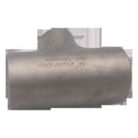 China ASME 3/4'' Butt Welding Pipe Fitting Alloy Steel Sch10 Eaqul Tee wholesale