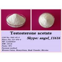 China Test Ace Testosterone Anabolic Steroid Testosterone Acetate Powder For Muscle Growth wholesale