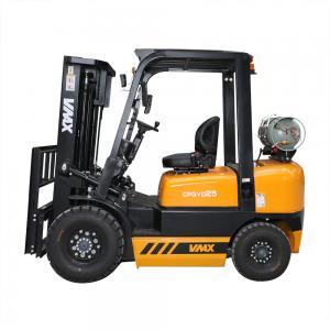 China Lpg Compact Forklift Trucks Gasoline Engine 2.5 Ton Mini Forklift Truck wholesale