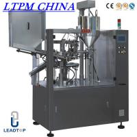 China Cream Automatic Tube Filling and Sealing Machine For Plastic Tube on sale