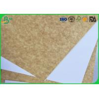 China 120gsm - 200gsm Coated White Top Liner Paper Water Resistant For Magazine Printing wholesale