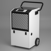 China Computer Control Domestic Refrigerative Dehumidifier With Bottom Caster wholesale