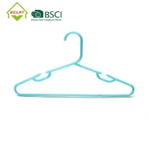 China Premium Contoured Shoulders Extra Thick Portable Plastic Hanger wholesale