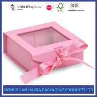 China Custom Cardboard Packaging Foldable Gift Box Corrugated Paper Material Long Lifetime wholesale