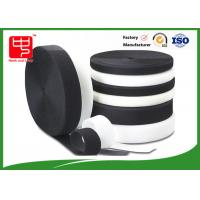 China Grade A Heavy duty fabric hook and loop fasteners 100% nylon black and white wholesale