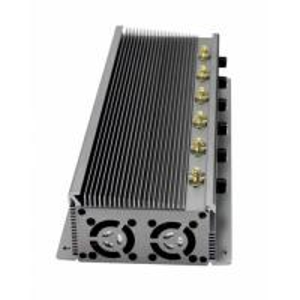 China GPS WiFi VHF UHF Radio Frequency Jammer High Power 6 Antennas , 15 Watt Out Put wholesale