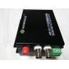 China HD TVI / CVI / AHD Transmitter Receiver , 1310nm 1080P 20km BNC Video Transceiver wholesale