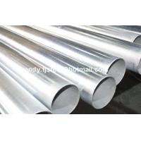 Stock BS1387 EN10255 ASTM A53 B Hot dipped Galvanized steel pipe, GI pipes