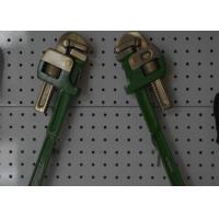 China Adjustable Non Sparking Pipe Wrench Explosion Proof Hand Tool Safety wholesale