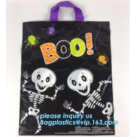 China china product printing design foldable clothes plastic carry bag/custom ldpe die cut handle clothing packaging plastic b on sale