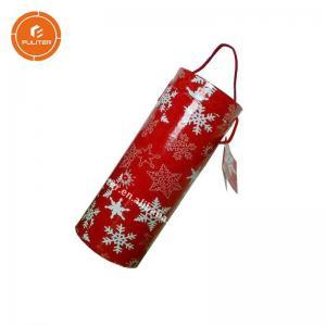 China Unique design personalized tube wine gift box red wine cardboard box wholesale