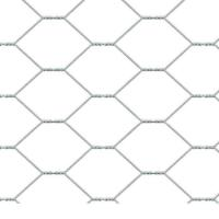 China Weaving Convenient Construction Hexagonal Wire Mesh Flat Surface For Filling wholesale
