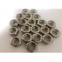 China Inconel 926 Heavy Hex Nut Alloy Steel Fasteners Cold Galvanizing High Precision wholesale